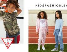 Кои са най-продаваните детски модели облекло на Guess kids в Kidsfashion.bg