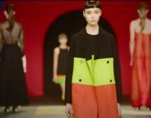 Dior с радикална промяна – дръзки цветове, спортни облекла и опростени силуети