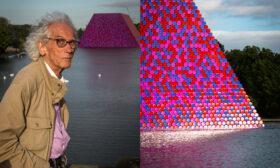 Първа изложба на Кристо и Жан – Клод в София
