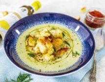 Супа от тиквички с копър