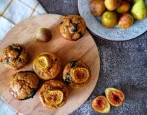 Мъфини с боровинки (и смокини)
