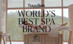 """NATURA BISSÉ е избрана за """"Най-добрата СПА марка в света"""" за 2021 г."""