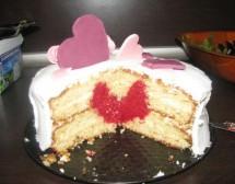 Торта с изненада. От Люси Петкова
