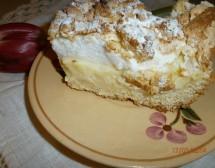 Маслен сладкиш с белтъчен крем