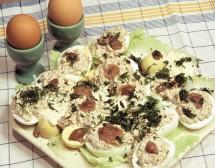 Яйца с челядинки