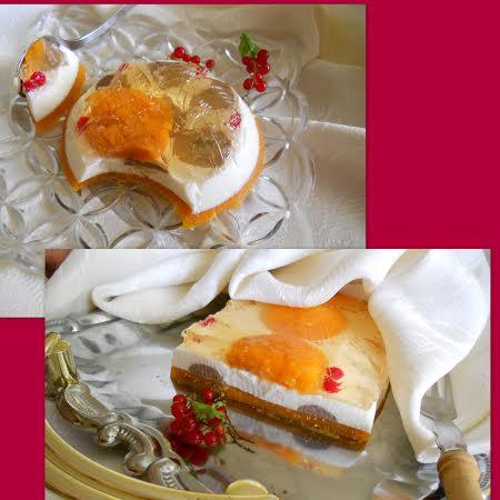 Желиран сладкиш с дъх на лято