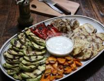 Зеленчуци на грил. От Екатерина Мирчева