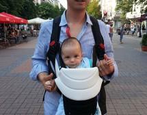 Петър Бакърджиев на терена на бащинството