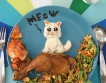Храната като анимация за злояди деца